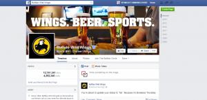 Buffalo Wild Wings  Facebook