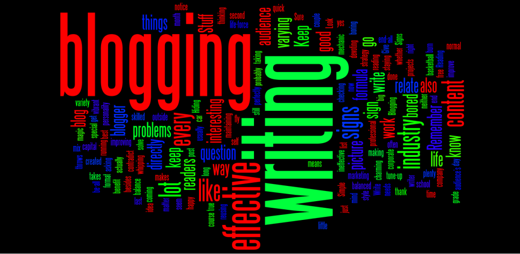 Signs that you're blogging is effective